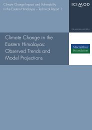 Climate Change in the Eastern Himalayas - Himalayan Document ...