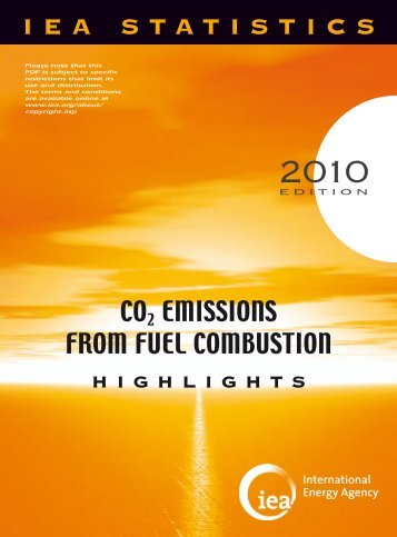 CO2 Emissions from Fuel Combustion Highlights 2010 - India ...