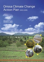 Orissa Climate Change Action Plan - India Environment Portal