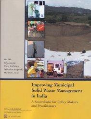 Improving Municipal Solid Waste - Tamil Nadu Government