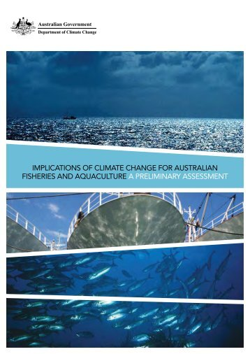 implications of climate change for australian fisheries and ...