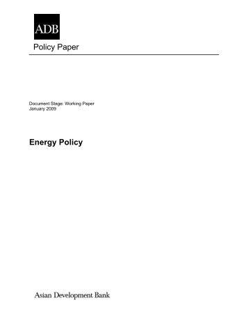 Energy Policy - India Environment Portal