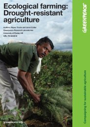 Ecological farming: Drought-resistant agriculture - Governance in India