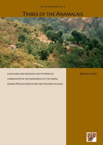 TRIBES OF THE ANAMALAIS - India Environment Portal