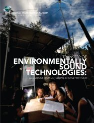 Transfer of environmentally sound technologies - India Environment ...