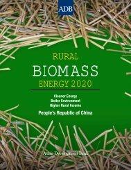 Rural Biomass Energy 2020 - India Environment Portal