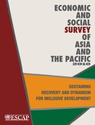 Economic and Social Survey of Asia and the Pacific 2010 - India ...