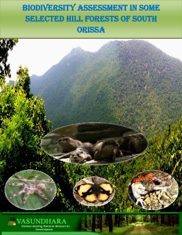 biodiversity assessment in some selected hill forests of south orissa