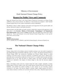 The National Climate Change Policy - India Environment Portal