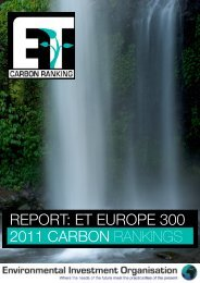 report: et europe 300 2011 carbon rankings - India Environment Portal