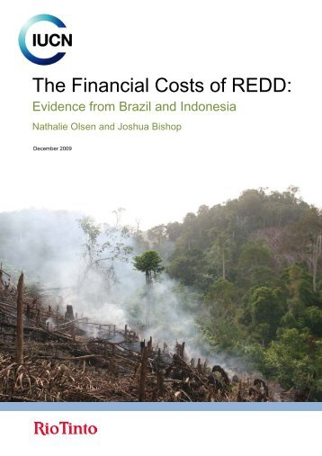 The Financial Costs of REDD: - India Environment Portal