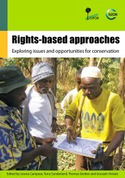 Rights-based approaches and conservation - India Environment Portal