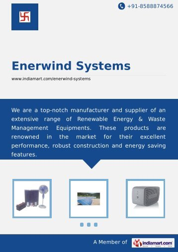 Enerwind Systems, Pune - Supplier & Manufacturer of ... - IndiaMART