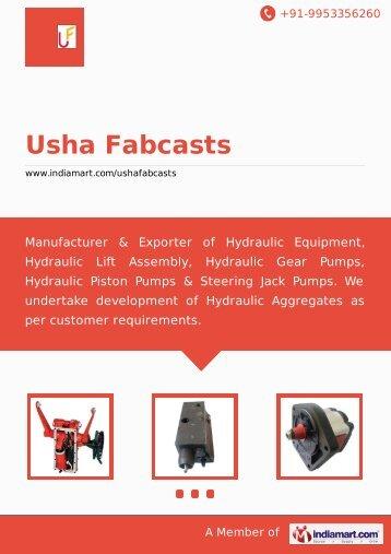 Usha Fabcasts, Faridabad - Supplier & Manufacturer of ... - IndiaMART