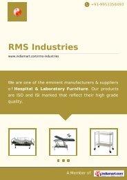 Supplier & Manufacturer of Hospital Beds & Cots ... - IndiaMART