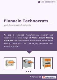 Pinnacle Technocrats, Rajkot - Supplier ... - IndiaMART