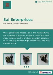 Manufacturer & Trader of ELECTROMAGNETIC ... - IndiaMART