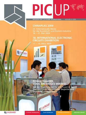 PIC UP Magazin 01/09 - C.a.picard Gmbh & Co. KG