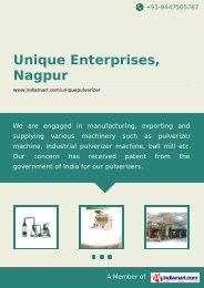 Unique Enterprises, Nagpur, Nagpur - Supplier ... - IndiaMART