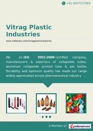 Manufacturer & Exporter of Printed Tubes, PET Plastic ... - IndiaMART