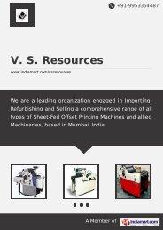 V. S. Resources, Vasai - Supplier & Manufacturer of ... - IndiaMART