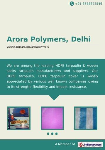 Arora Polymers, Delhi, Delhi - Manufacturer ... - IndiaMART