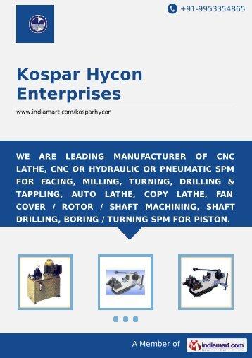 Kospar Hycon Enterprises, Faridabad - Supplier ... - IndiaMART