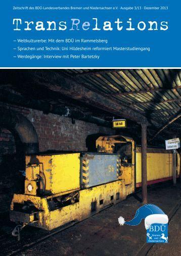 3/2013 - BDÜ Landesverband Bremen und Niedersachsen eV