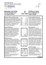 Katalog Befestiger und Geräte für die Industrie und den Apparatebau
