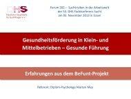 Marten Mey - Deutsche Hauptstelle für Suchtfragen e.V.
