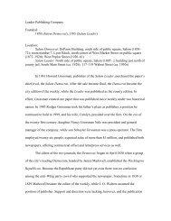 Leader Publishing - Indiana Historical Society