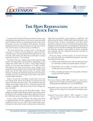 The Hopi Reservation Quick Facts - Indian Country Extension