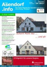 34 2013 Das kleine Magazin für Asendorf und Umzu - Gemeinde ...