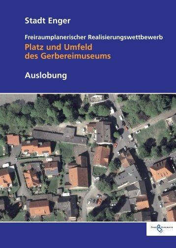 Auslobung Platz und Umfeld Gerbereimuseum - Drees & Huesmann