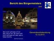 Gemeindevertretung vom 12.12.2013 - Gemeinde Ostseebad Binz ...