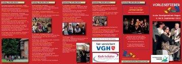 VORLESEFIEBER - Samtgemeinde Hagen