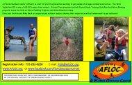 A Florida Outdoor Center Flyer