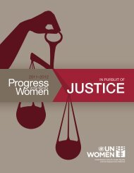 JUSTICE JUSTICE - Progress of the World's Women