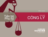 CÔNG LÝ - Progress of the World's Women - UN Women