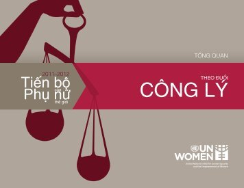 CÔNG LÝ - Progress of the World's Women - UN Women
