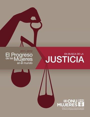En busca de la justicia - Progress of the World's Women