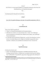 Entwurf des Gesetzes EDL-G