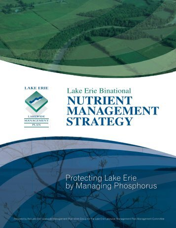 Lake Erie Binational Nutrient Management Strategy - Upper Thames ...