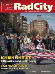 ICH BIN EIN AUTO - ADFC Hamburg