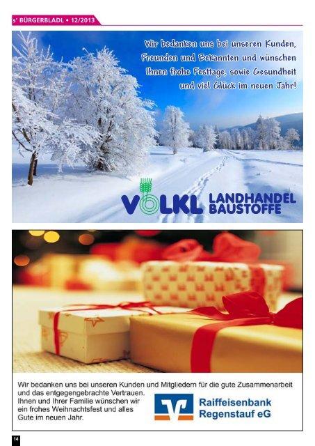 Ausgabe Dezember 2013 - Druckservice Weiß