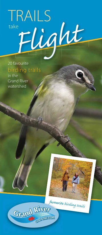 Trails Take Flight brochure - Grand River Conservation Authority
