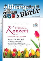KW 16/2013 - Althengstett