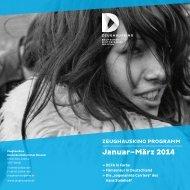 Timetable Januar, Februar, März 2014 - Deutsches Historisches ...