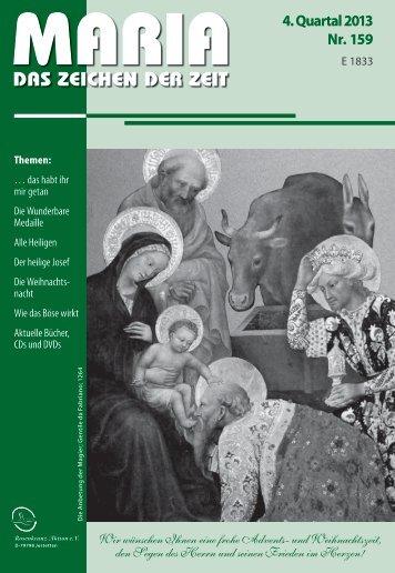DAS ZEICHEN DER ZEIT - Miriam-Verlag