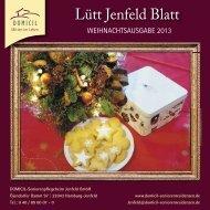 Lütt Jenfeld Blatt - DOMICIL Seniorenresidenzen